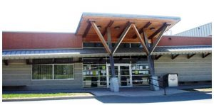An image of the Mount Albert Branch showcasing the accessible entrance.