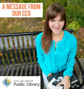 Library CEO Monika Machacek