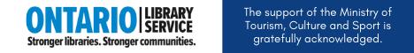 Ontario Library service logo